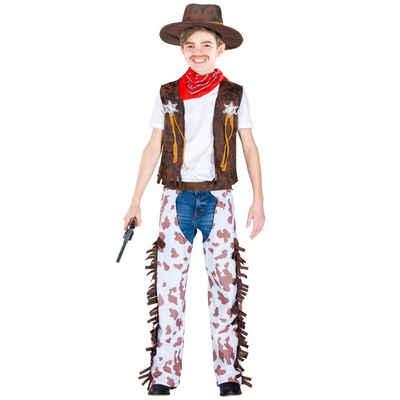 tectake Cowboy-Kostüm »Jungenkostüm kleiner Sheriff«