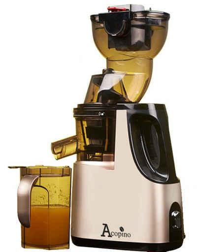 Acopino Slow Juicer Delicato, 250 W