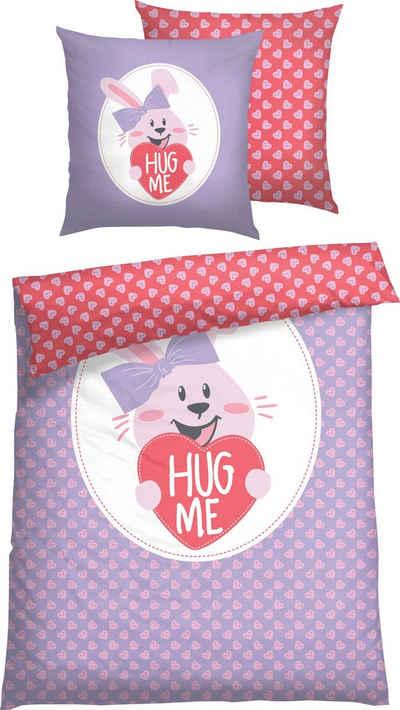 Kinderbettwäsche »Hug me«, Baby Born, mit Digitaldruck