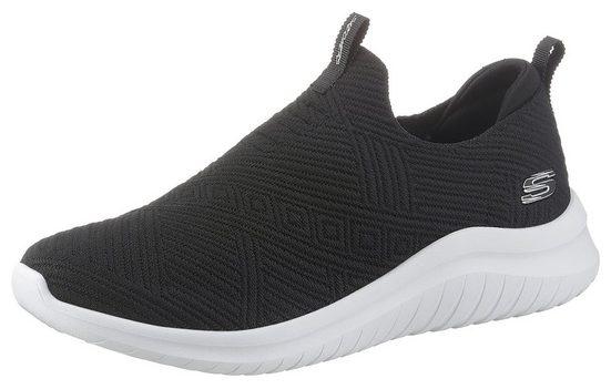 Skechers »ULTRA FLEX 2.0« Slip-On Sneaker mit gepolstertem Fersenrand