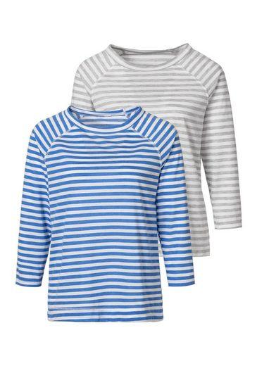 H.I.S 3/4-Arm-Shirt (2er-Pack)