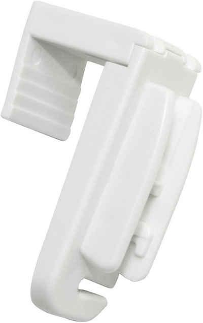 Klemmträger »Zubehör Plissee Concept«, GARDINIA, (4-tlg), zur Montage ohne Bohren und Schrauben