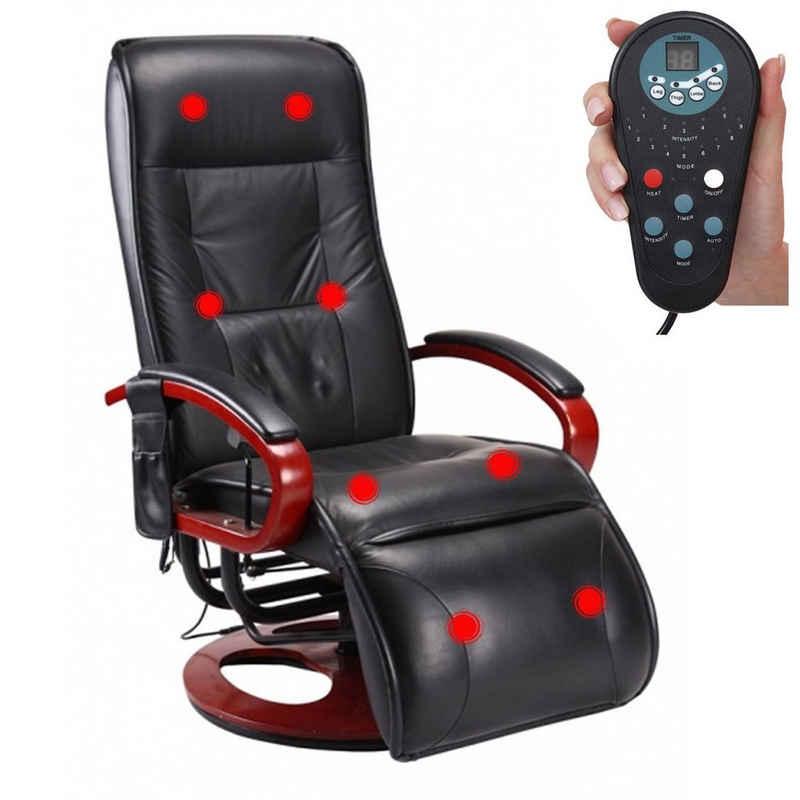 MCW Massagesessel »Terni II«, 8-Punkt Massage, 9 Massageprogramme, 3 Intensitätsstufen, Rücken und Beine separat ansteuerbar