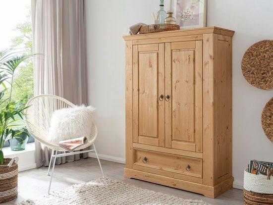 Premium collection by Home affaire Wäscheschrank »Magyc« aus Massivholz
