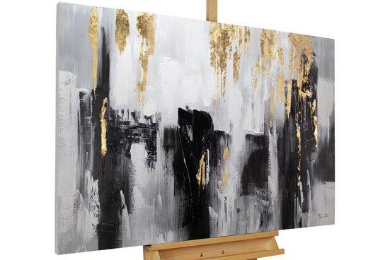 KUNSTLOFT Gemälde »Shooting Upwards«, handgemaltes Bild auf Leinwand