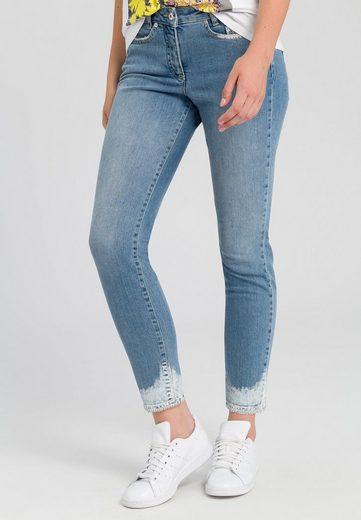 MARC AUREL 5-Pocket-Jeans mit Nieten