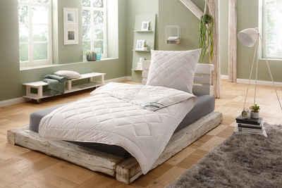 Naturfaserbettdecke, »Argali«, f.a.n. Schlafkomfort, Füllung: Argalihaar, Bezug: 100% Baumwolle, mit Kaschmirfeeling