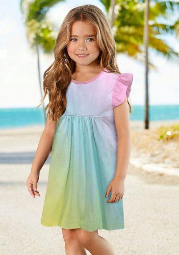 KIDSWORLD Jerseykleid mit kleinen Flügelärmeln