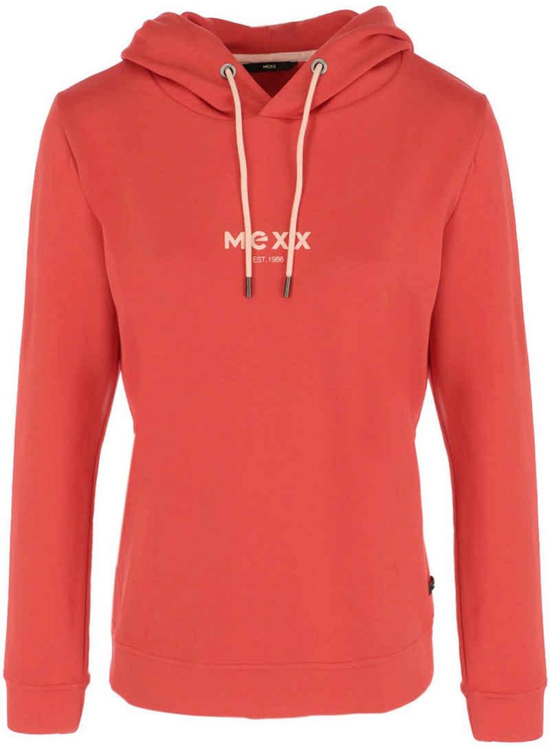 Mexx Hoodie mit Logo-Aufdruck