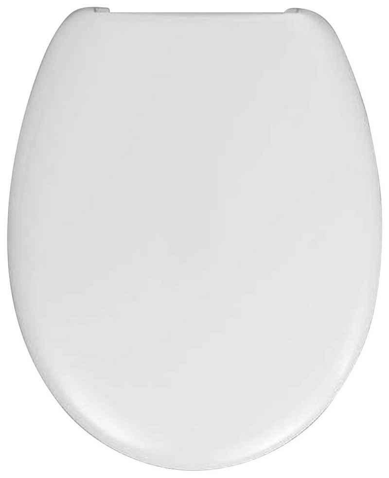 HARO WC-Sitz »Lago« (1-St), passend für schmale, universelle WC's, ohne Absenkautomatik