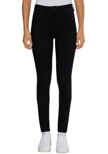 Tommy Hilfiger Curve Skinny-fit-Jeans »CRV TH FLEX HARLEM U SKINNY HW B« mit Tommy Hilfiger Logo-Badge