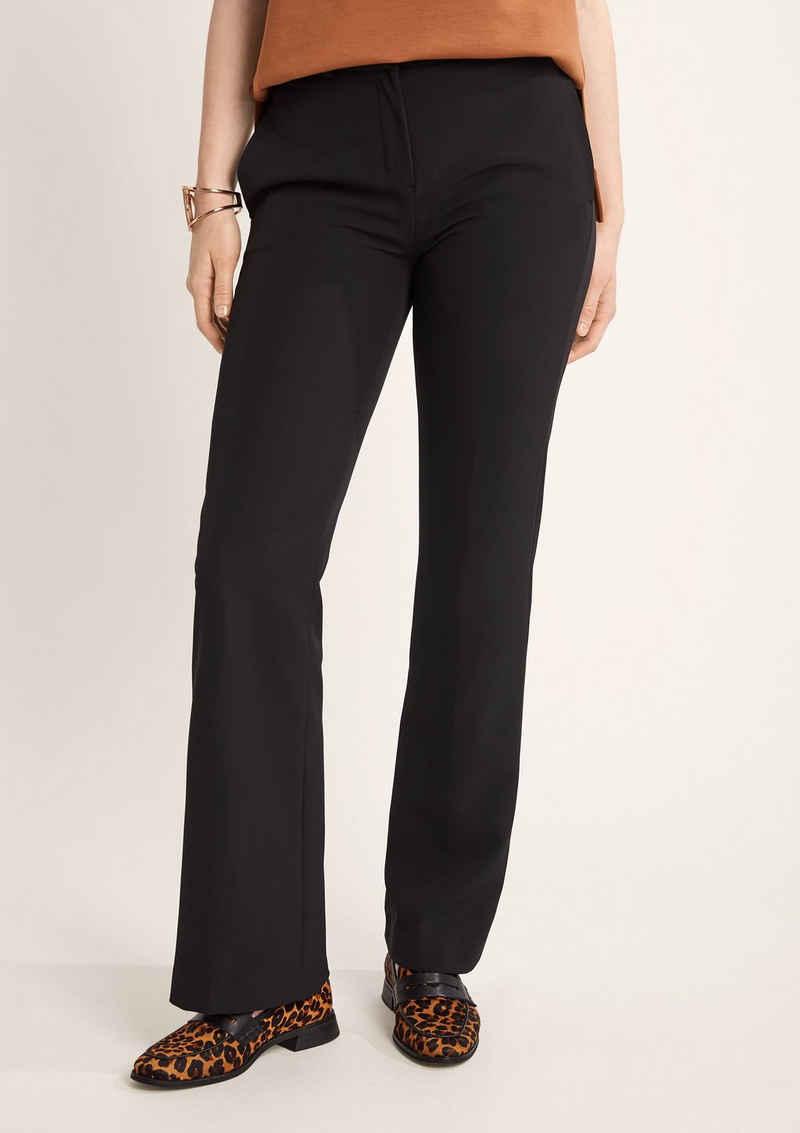 Comma Stoffhose »Regular: Elegante Wide-Leg Hose« (1-tlg)