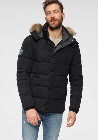 TOM TAILOR Polo Team Steppjacke su abtrennbarer Kapuze