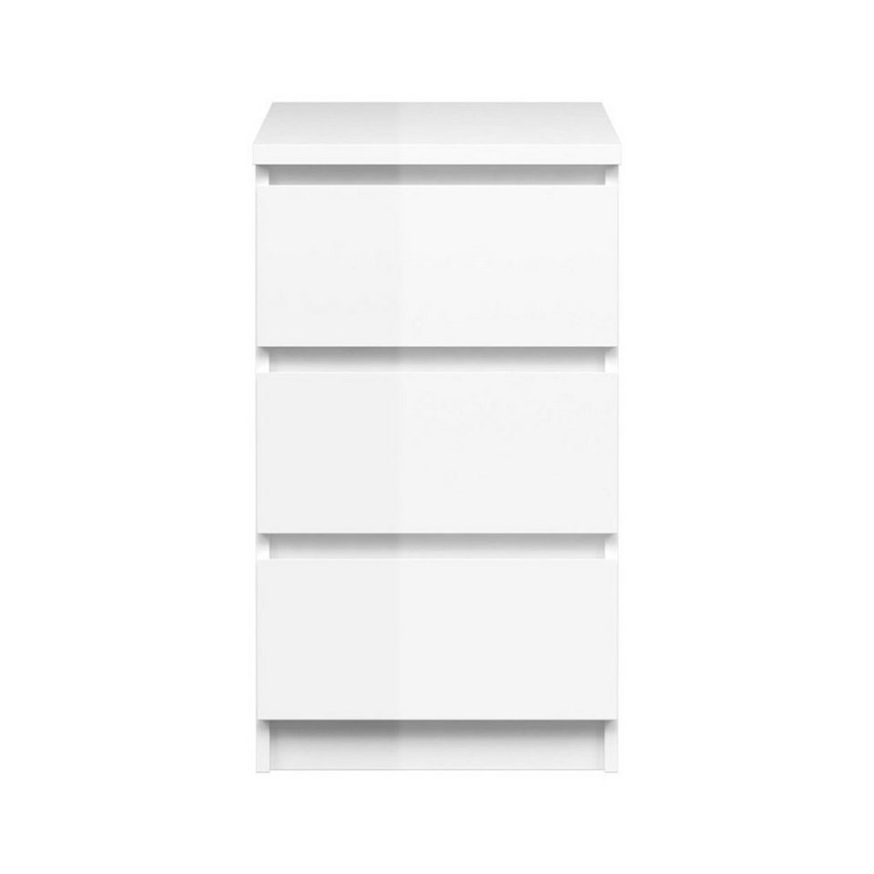 Kommode Hochglanz Weiß Schubladen 2021