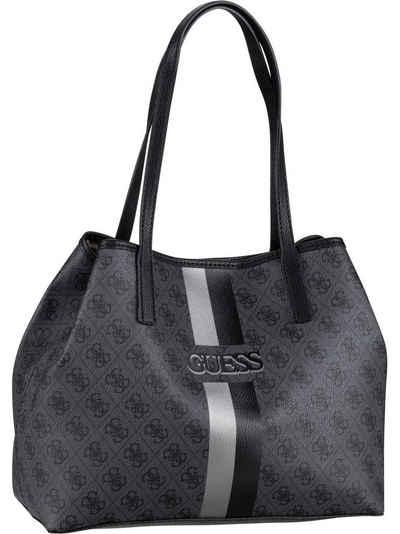 Guess Handtasche »Vikky Tote Logo Stripe«, Shopper