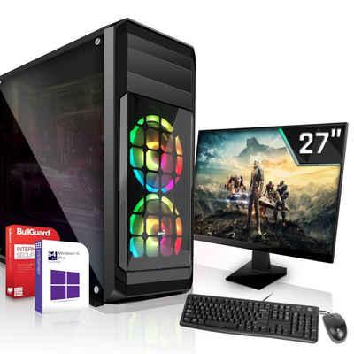 SYSTEMTREFF »High-End Edition 90555« Gaming-PC-Komplettsystem (Intel Core i9 9900K, Nvidia GeForce RTX 3060 12GB GDDR6, 16 GB RAM, 2000 GB HDD, 1000 GB SSD)
