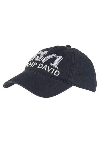 CAMP DAVID Baseball Kepurė su snapeliu Stone wash...