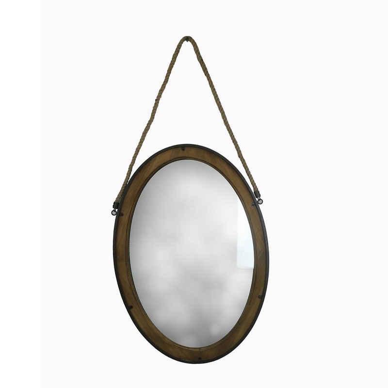 HTI-Line Garderobenspiegel »Wandspiegel Valja Oval«