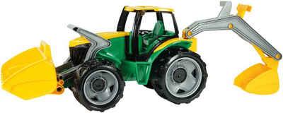 Lena® Spielzeug-Traktor »Giga Trucks«, mit Baggerarm und Frontlader; Made in Europe