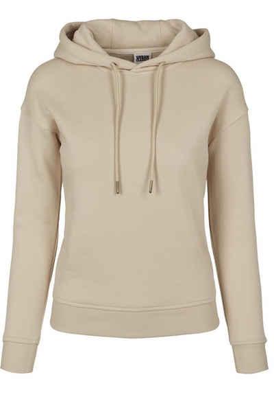 URBAN CLASSICS Hoodie »TB2984 Ladies Organic Hoody Damen Kapuzensweatshirt«