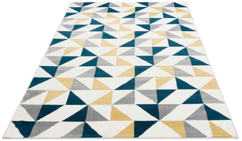 Teppich »Amina«, Bruno Banani, rechteckig, Höhe 11 mm, Wohnzimmer