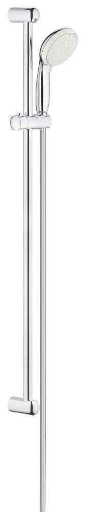 Grohe Stangenbrause-Set »Tempesta 100«, Höhe 92 cm, 2 Strahlart(en), 3 tlg., mit 2 Strahlarten, 100mm