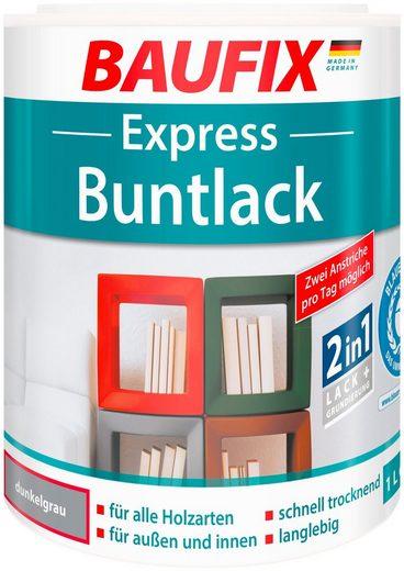 BAUFIX Acryl Buntlack »Express«, dunkelgrau, 1 l
