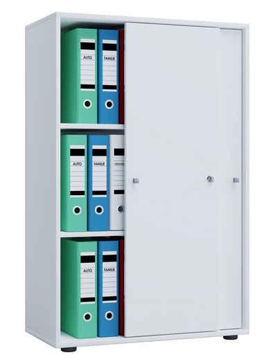 VCM Aktenschrank »Büroschrank Lona 3-fach mit Schiebetüren«