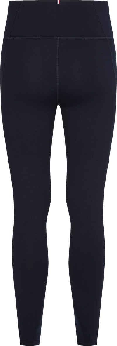 Tommy Hilfiger Sport Funktionsleggings »HW ROUND GRAPHIC LEGGING« mit rundem, graphic Tommy Hilfiger Sport Logo seitlich auf dem linken Bein