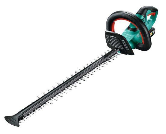 BOSCH Akku-Heckenschere »AHS 55-20 LI«, 55 cm Schnittlänge, mit Akku und Ladegerät