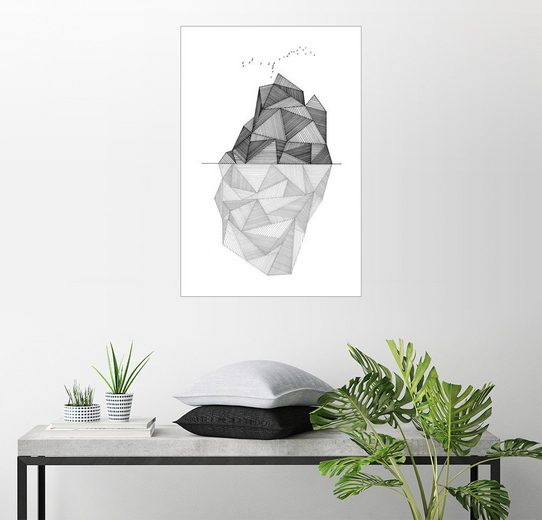 Posterlounge Wandbild, Eisberg I