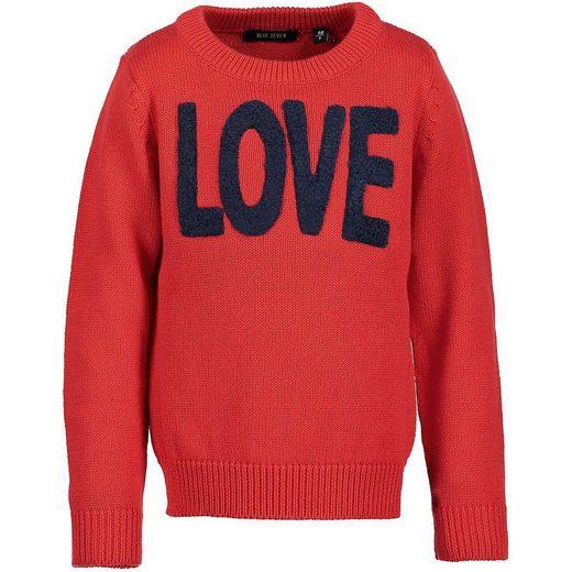 Blue Seven Rundhalspullover »Pullover für Mädchen«