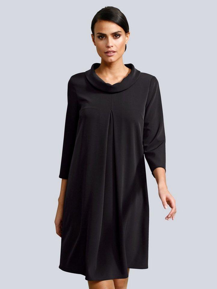 Festtagsmode - Alba Moda Kleid mit Rollkragen › schwarz  - Onlineshop OTTO