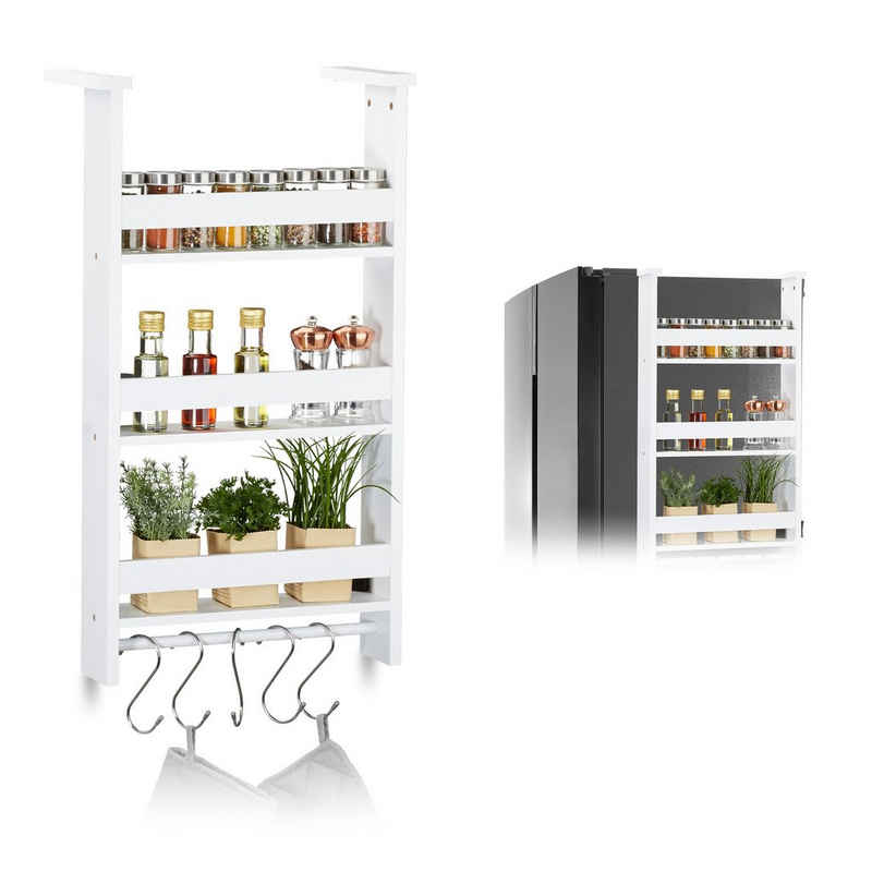 relaxdays Hängeregal »Hängeregal für Kühlschrank«