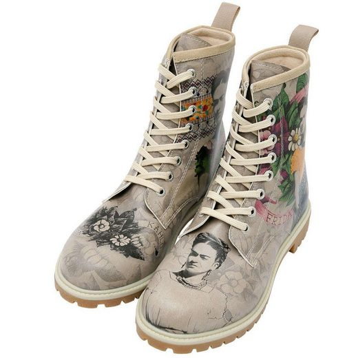 DOGO »A Flower From The Past« Stiefel Vegan
