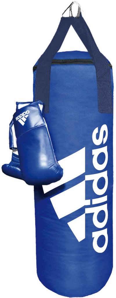 adidas Performance Boxsack »Blue Corner Boxing Kit« (Set, 2-tlg., mit Boxhandschuhen)