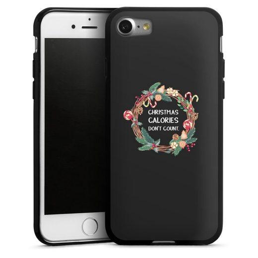 DeinDesign Handyhülle »Christmas Calories dont count« Apple iPhone 8, Hülle