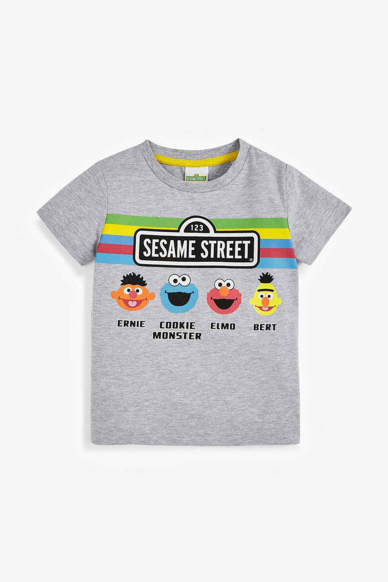 Next T-Shirt »Sesamstraße Graues T-Shirt« (1-tlg)