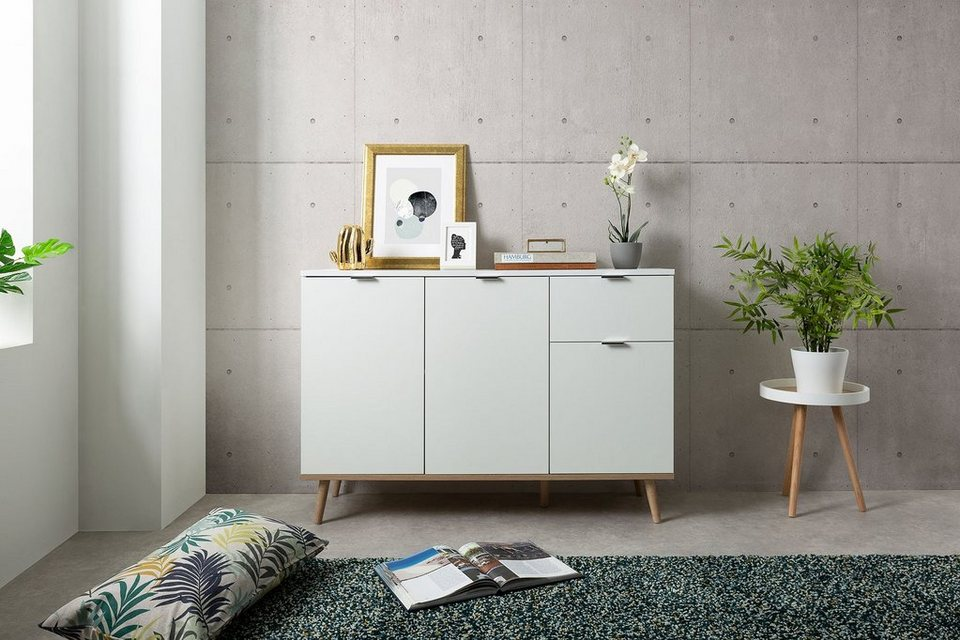 Wohnzimmer Kommode Weiß 2021