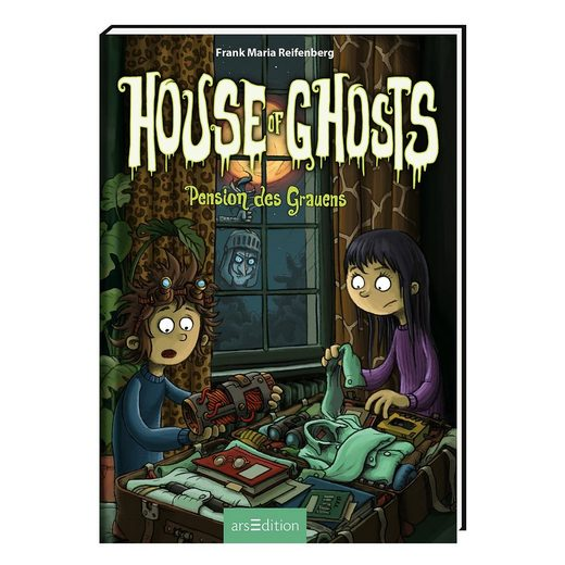 arsEdition Verlag House of Ghosts: Pension des Grauens, Band 3
