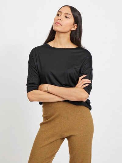 Vila Blusenshirt mit überschnittenen Schultern