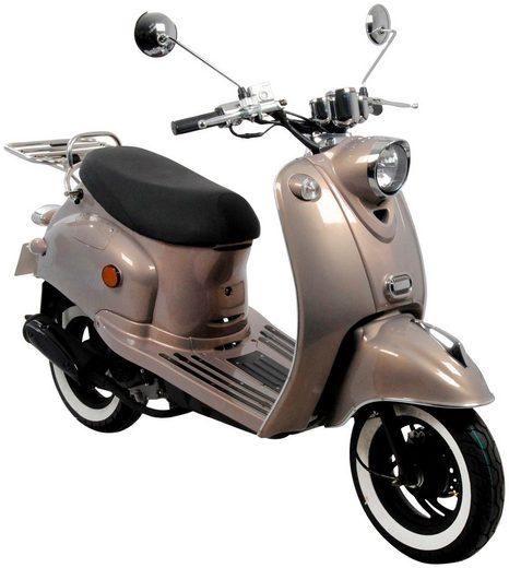 AGM MOTORS Motorroller »GMX 460 Retro Classic NF Edition«, 50 ccm, 45 km/h, Euro 4