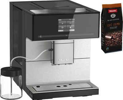 Miele Kaffeevollautomat CM7350 Obsidianschwarz, Appfähig