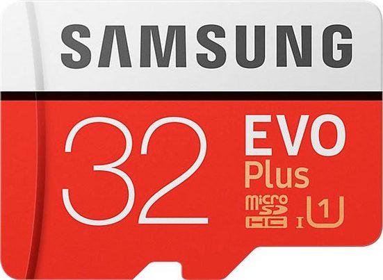 Samsung »EVO Plus 2017 microSD« Speicherkarte (32 GB, UHS Class 1, 95 MB/s Lesegeschwindigkeit)