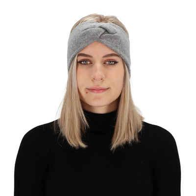 halsüberkopf Accessoires Stirnband »Stirnband« Feingestricktes Stirnband mit weichem Kaschmir
