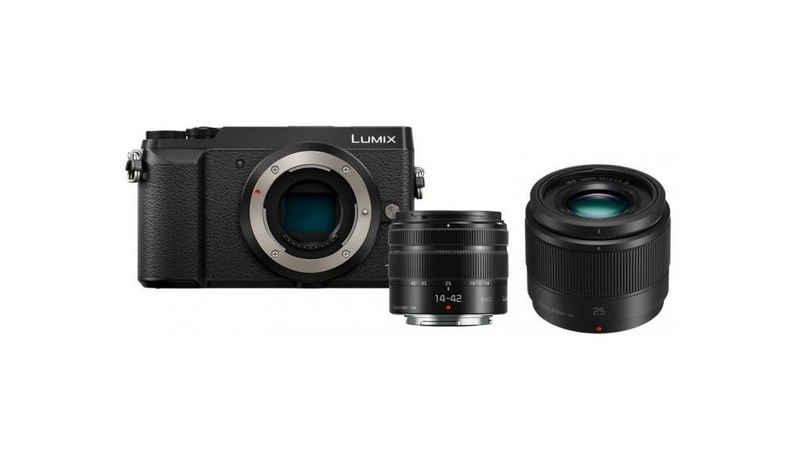 Panasonic »Lumix DMC-GX80 + 14-42mm + 25mm f1,7« Systemkamera