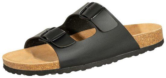 SALIHA »808709« Sandale SALIHA Bioline Pantolette schwarz