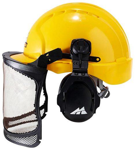 UNIVERSAL Sicherheitshelm »PRO016, 00057-76«, mit Gehör- und Sichtschutz