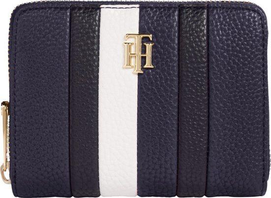 TOMMY HILFIGER Geldbörse »TH ESSENCE MED ZA CORP«, in schöner Farbkombination