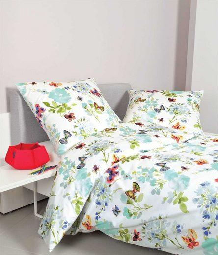 Bettwäsche »multicolor«, Janine, hochwertige Mako Satin Qualität